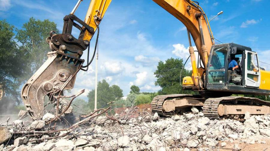 Would you use recycled demolition waste for your luxury new build?